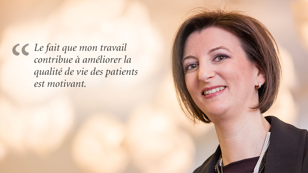 Dr. Marie-Pierre Monnerat, Franchise Leader Respiratory Diseases, Roche Pharma (Suisse) SA