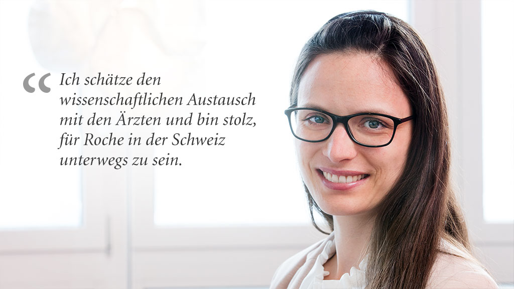 Dr. Daniela Abgottspon, Medical Science Liaison, Roche Pharma (Schweiz) AG